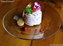 【訳あり】 インヴィテーション ケーキ皿 19cm ガラス