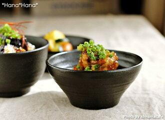 有kuroppu 12.5cm深型小鉢深鉢黒餐具