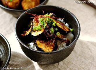 有kuroppu 11.5cm多用丼深丼黒餐具