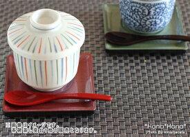 茶碗蒸し受皿台 正角 11cm 全2色 雲竜塗 スプーンくぼみ有り//和食器 買いまわり