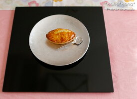 正角プレイスマット 折敷 30cm ブラック 漆器//和食器 食器 正月