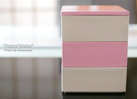 バイカラー プチ3段重箱 大 9.2cm ブロッサムピンク・オフホワイト 漆器//和食器 食器 正月 おせち 一人用