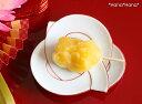 結び 小皿 (赤線) 11cm 有田焼 幸楽窯// 和食器 食器 正月 キャッシュレス 還元