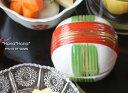 糸巻 蓋付き角型珍味 豆小鉢 6.1cm//美濃焼 和食器 食器 正月 ふた付き 陶器