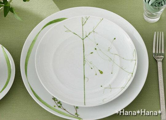 ボタニカルポエム デザートプレート 22cm お皿 おしゃれ