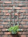 ガーデニング ガーデン 雑貨 ハート 寄せ植えハンギング アイアン 壁掛け【花遊び】『ジャンクハートフラワーハンガー』