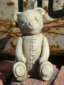 ガーデニング ガーデン ベアー くま アニマル イングリッシュ 英国 雑貨 ストーン製 『English Small Bear』