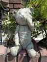 ガーデニング ガーデン ベアー くま イングリッシュ 英国 ストーン製 送料無料【花遊び】 『English Baby Bear』