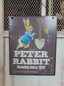 ガーデニング 雑貨 ガーデン プレート『Peter Rabbit ティンプレート・Shovel』