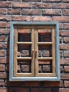 窓 ドア ハンギング フレーム フェンス 木製ガーデニング ガーデン アンティーク【花遊び】『ウィンドウフレーム・S(ダブルドア)』