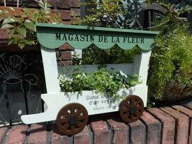 三輪車 ポット インテリア ガーデニング ガーデン 雑貨『ワゴンフレームプランター』