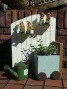 ハウス 家 オーナメント 樹脂 ガーデニング ガーデン『ガーデンデコ!フェンス』