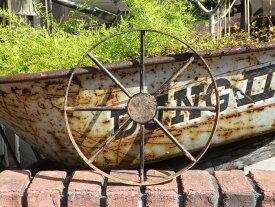 ガーデニング ガーデン 雑貨『アイアン車輪・S』