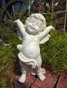 ガーデニング ガーデン エンジェル フェアリー 天使 羽根オーナメント インテリア 雑貨 樹脂 置物【花遊び】『スリー…