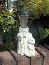 ソーラー ライト 雑貨 ガーデニング ガーデン【花遊び】【NEW】『ソーラーライト♪うさぎちゃん』