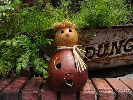 ハロウィン かぼちゃ パンプキン オーナメントガーデニング ガーデン アンティーク 送料無料【花遊び】『アンティーク風!OAKLEYゴード』