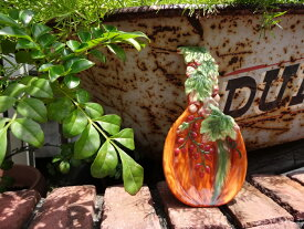ハロウィン かぼちゃ パンプキン オーナメントガーデニング ガーデン アンティーク【花遊び】『ハーベストパンプキン スプーンレスト』