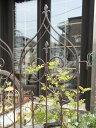 ガーデニング トレリス 風車 アイアン フェンスガーデン ガーデニング つる アンティーク 送料無料【花遊び】『ガーデ…