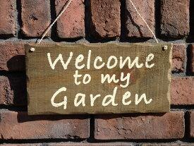 ガーデニング ハンギング ガーデニング ガーデン『ウッドプレート・Garden』