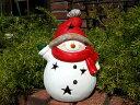 クリスマス サンタ スノーマン トナカイガーデニング ガーデン【花遊び】『まんまるスノーマン』