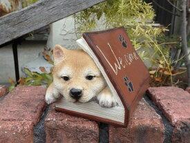雑貨 ガーデニング ガーデン ドッグ アニマル『Welcome Book ドッグ』