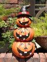 ハロウィン かぼちゃ パンプキン オーナメント【花遊び】『happy♪ハロウィンタワー』