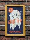 ハロウィン かぼちゃ パンプキン オーナメント【NEW】『happyハロウィンボード・スマイルゴースト』