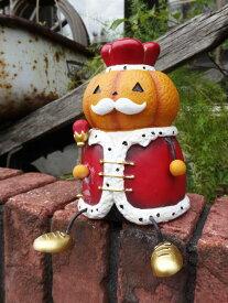 ハロウィン かぼちゃ パンプキン オーナメント【NEW】『ハロウィン♪足ぶら王様』