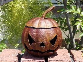 ハロウィン かぼちゃ パンプキン オーナメント【花遊び】『ハロウィン!アイアンかぼちゃ・S』