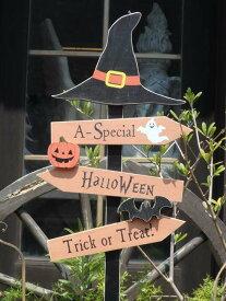 ハロウィン かぼちゃ パンプキン オーナメント『ウィッチフレンドピック』