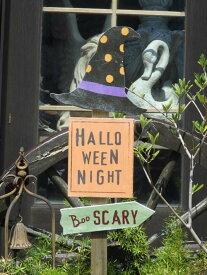 ハロウィン かぼちゃ パンプキン オーナメント『ウィッチプレートピック』