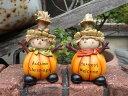 ハロウィン かぼちゃ パンプキン オーナメント【NEW】『ハッピー♪パンプキンドール』