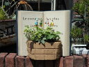 ハウス オーナメント 雑貨 ガーデニング ガーデン『ガーデンデコ!BOOK プランター』