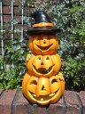 ハロウィン かぼちゃ パンプキン オーナメント『happy♪ハロウィンタワー』
