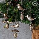 ガーデニング ガーデン クリスマス トナカイ アンティーク『シルバー!ナッツバード』