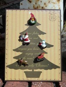 クリスマス 雑貨 ガーデニング ガーデン『クリスマス♪マグネットツリープレート』
