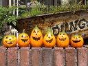 ハロウィン かぼちゃ パンプキン オーナメント『happy♪パンプキンランタン6!』