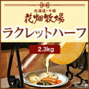 花畑牧場【5/5賞味】ラクレットハーフ 2.3kg