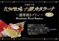 花畑牧場十勝カタラーナ〜濃厚焼きプリン〜(260g)POP