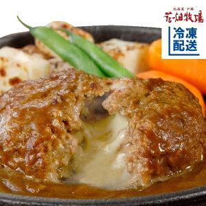花畑牧場 ゴーダチーズ入りハンバーグ〜カレーソース〜 8個【冷凍配送】