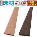 【ウッドデッキ】【人工木】【全2色】人工木材 木目調 人工木ウッドデッキ 部材 ウッドデッキ部材 部品 樹脂ウッドデ…