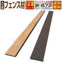 【ウッドデッキ】【人工木】【送料無料】【全2色】人工木材 木目調 人工木ウッドデッキ 部材 ウッドデッキ部材 部品 …
