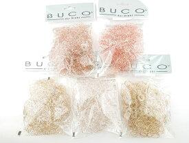 【BUCO】カーリースモーク 1袋(約15グラム)定番の5カラー《ラメッタカーリー ラメカールワイヤー 花材 資材 ハーバリウム資材 アレンジメント資材 装飾資材》