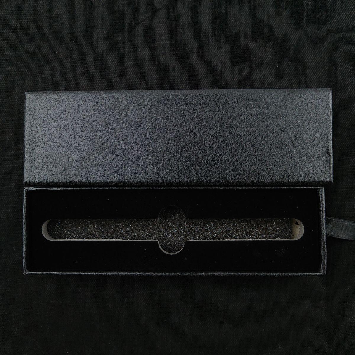 ハーバリウムボールペン専用ケース 高級感溢れるブラックケース ※ボールペンは別売りです。