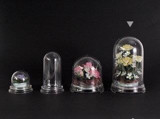 即日★セロン/セロンドームクリア 120L  /F6213【00】《 花器、リース 花器・花瓶 セロンドーム 》