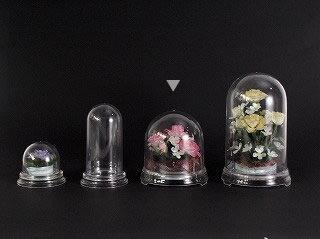 即日★セロン/セロンドームクリア 120M  /F6214《 花器、リース 花器・花瓶 セロンドーム 》