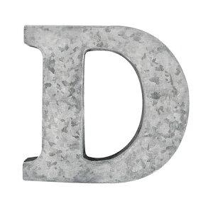 CARNAC/PCMブリキアルファベットD−GA/684957【07】【取寄】[2個]店舗ディスプレイ ディスプレイ 店舗インテリア 文字ベース 手作り 材料