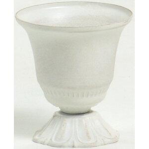 SG Wonder zone/アンティークブリキポット WT/540-007W【01】【取寄】花器、リース 花器・花瓶 ブリキ・アイアン・アルミ花器 手作り 材料