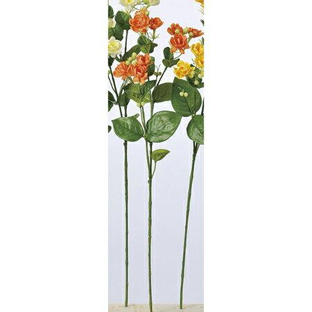 【造花】アスカ/ジャスミン×9 つぼみ×19 オレンジ/A-32830-030【01】【01】【取寄】《 造花(アーティフィシャルフラワー) 造花 花材「さ行」 ジャスミン 》