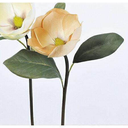 【造花】アスカ/マグノリア ブラウンイエロ−/A-39641-028Y【01】【取寄】《 造花(アーティフィシャルフラワー) 造花 花材「ま行」 モクレン(木蓮)・マグノリア 》
